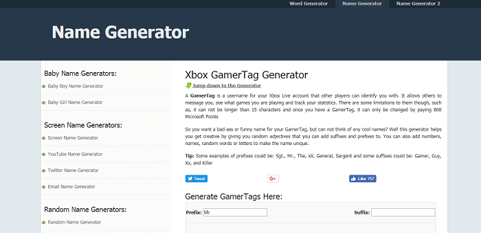 Xbox live gamertag ideas for guys